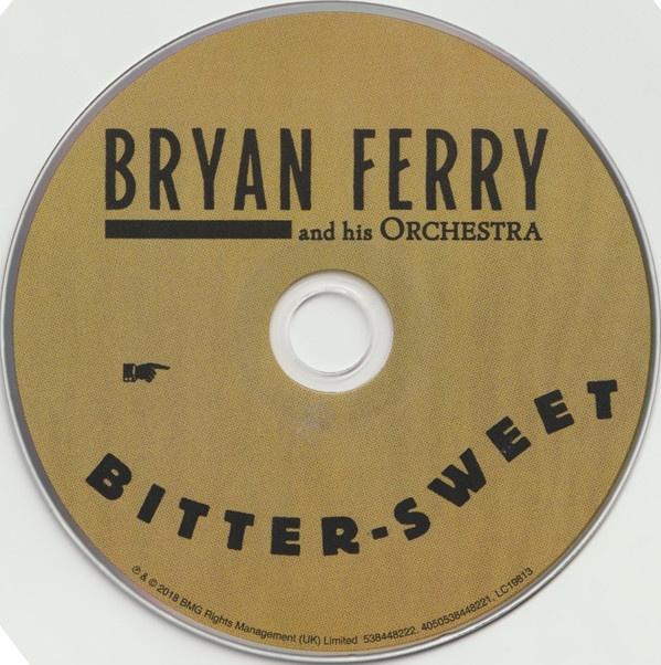 chupar pulmón Mortal  Bryan Ferry: Bitter-Sweet Deluxe, CD 2018 - купить CD-диск в интернет  магазине